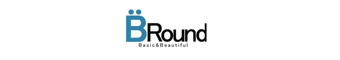 ビーラウンドBRound Basic and Beautifulロゴ